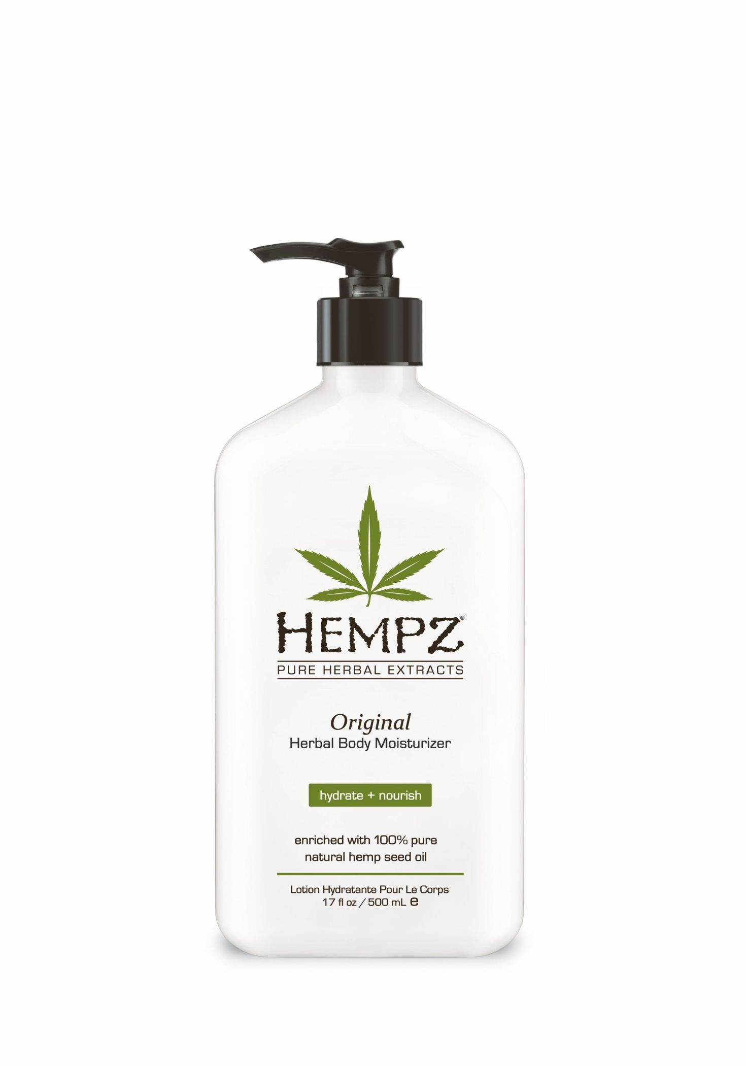 Hempz Original Herbal Moisturizer 17oz/500ml