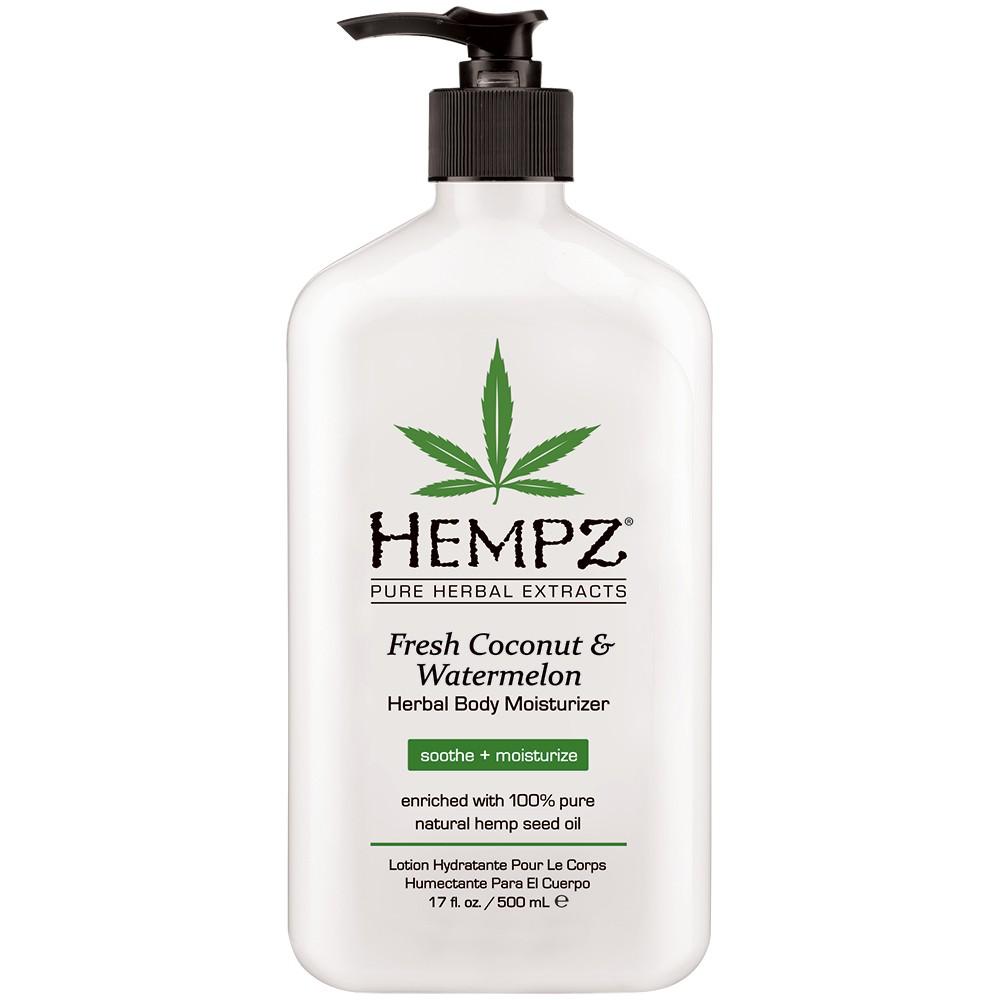 Hempz Fresh Coconut & Watermelon Herbal Moisturizer 17oz/500ml