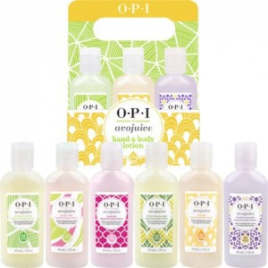 OPI Avojuice Hand&Body Lotion 6-Pack 30 ml - 1 fl.oz.