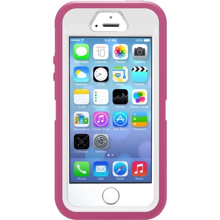 Otterbox 7734589 Defender iPhone 5S Pink White