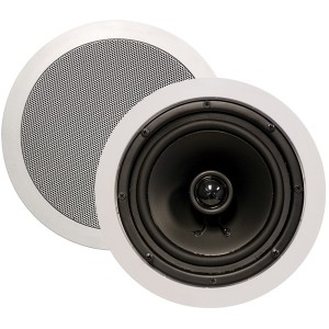 "ARCHITECH 8"" 2-Way Round In-Ceiling Speakers"