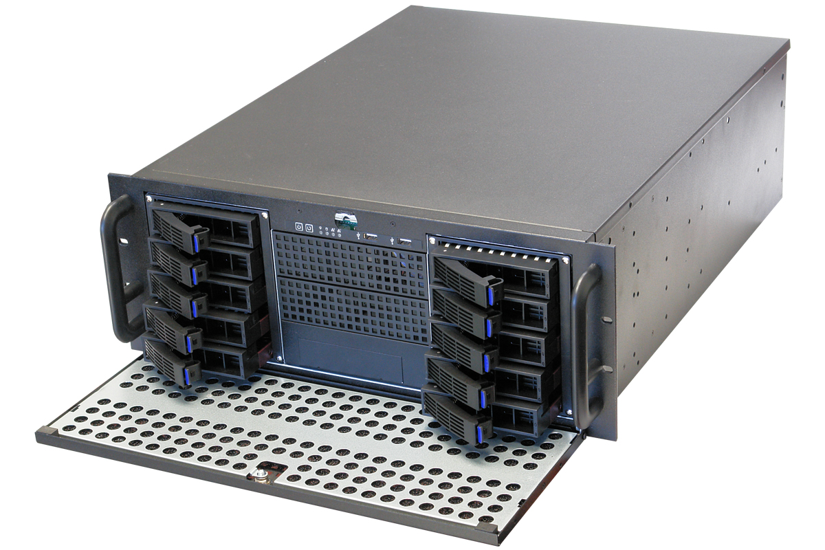 NORCO RPC-450TH 4U Rackmount Server Chassis (Black)