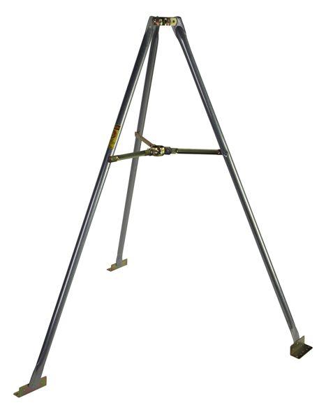 5´ Satellite Antenna Tripod with Mast 18ga 5ft