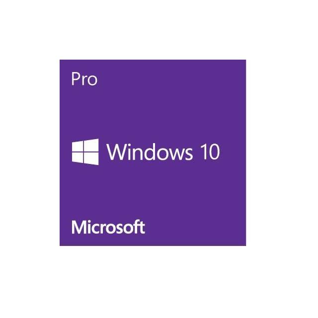 Windows 10 Pro Operating System 64-bit English (1PC), ESD