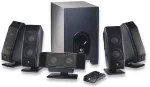 Logitech X-540 5pc 5.1 Stereo Speakers