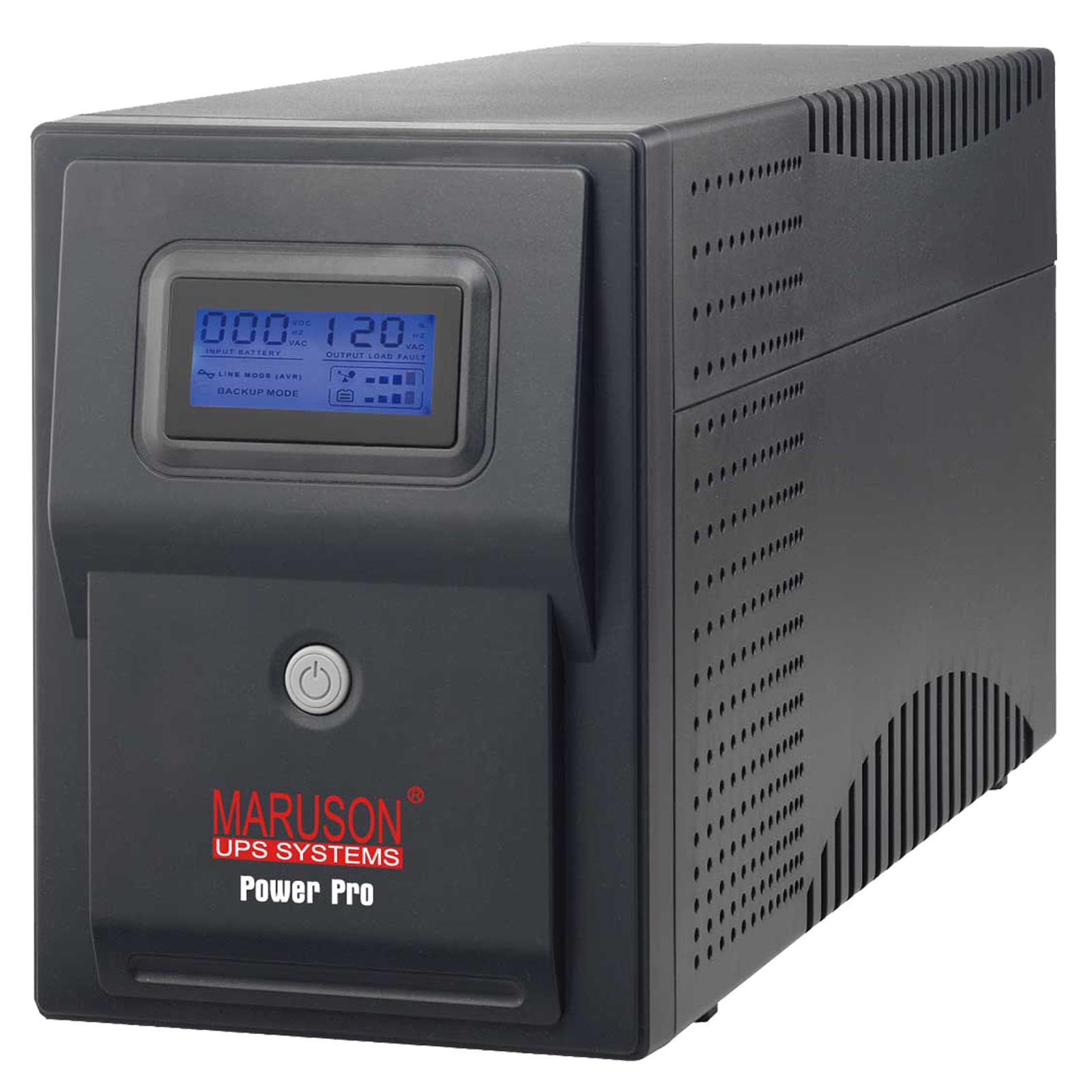 PowerPro 1500VA AVR LCD series line-interactive UPS
