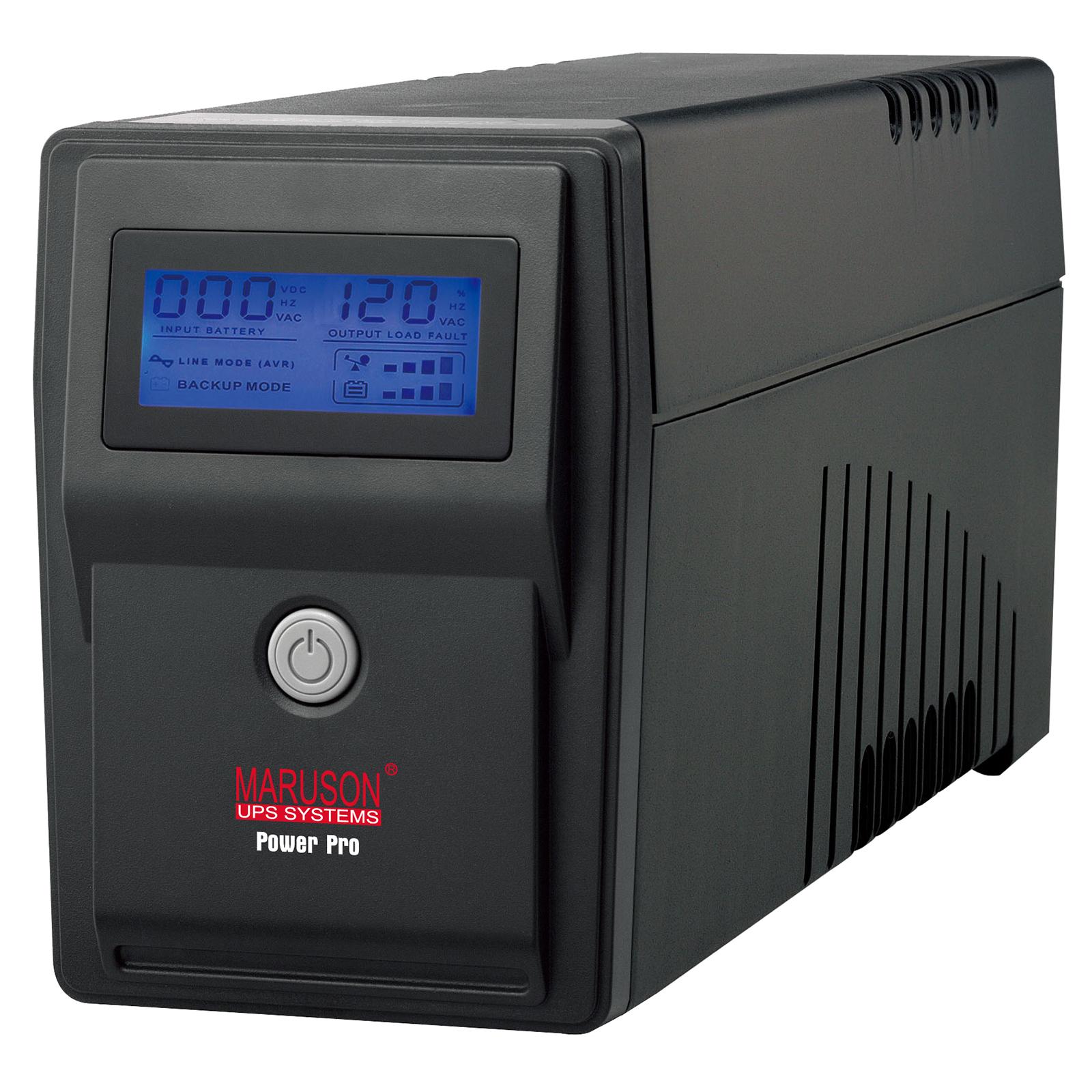 PowerPro 800VA AVR LCD series line-interactive UPS