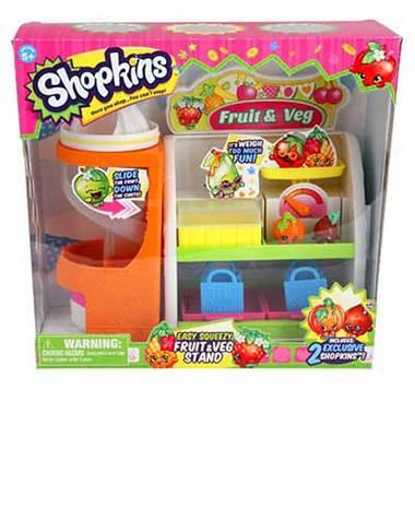 Shopkins Playset Fruit & Veg