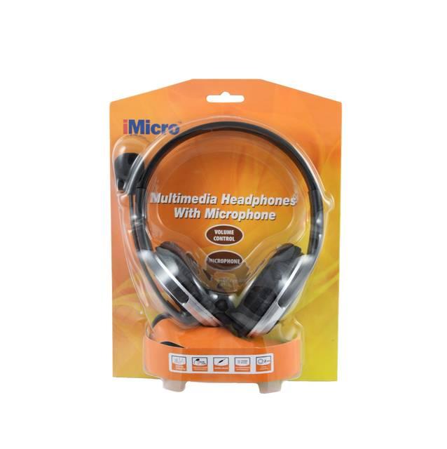 iMicro Premium Headset w/Mic