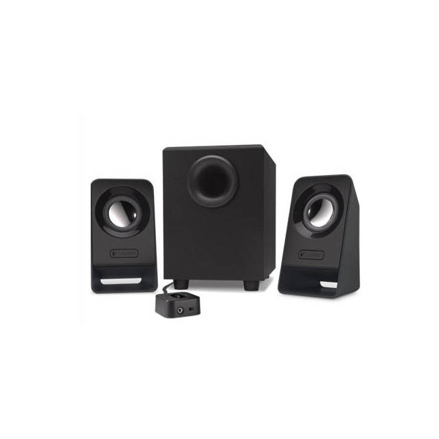 Logitech Z213 Wired 2.1 Channel Speaker System (Black)