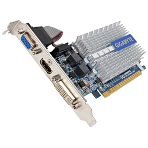 GIGABYTE GeForce® 210 1GB DDR3